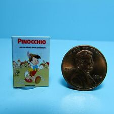 Dollhouse Miniature Replica o Book Disney Pinocchio ~ B061