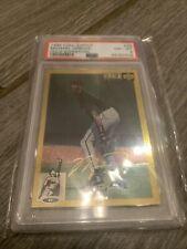 1994 Upper Deck Collectors Choice Michael Jordan Gold Signature #23 PSA 8 Q996