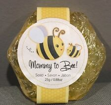 1 Mommy To Bee Honey Scented Honeycomb Soap Baby Shower Favor
