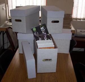 3 x PROFESSIONAL SILVER AGE COMIC STORAGE BOXES