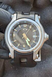 Oakley Stainless Steel Holeshot Wristwatch
