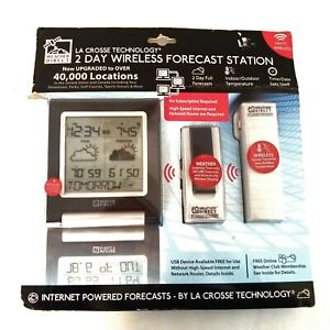 La Cross  Wireless Weather Forecast Station  Model WD-2511U-CP