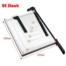 "15"" Paper Cutter B4 to B7 Metal Base Guillotine Page Trimmer Blade Scrap Booking"