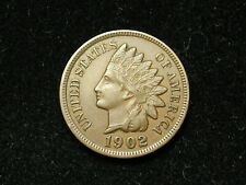 SUMMER SALE!! XF 1902 INDIAN HEAD CENT PENNY w/ DIAMONDS & FULL LIBERTY #88s