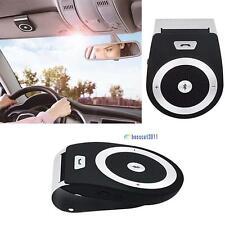 Stereo Bass Wireless Bluetooth Car Kit Speaker Handsfree For Iphone Samsung BFQ