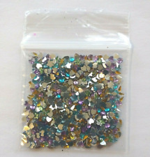 Nail Art Mixed Crystal Rhinestones Gem Flat Back Acrylic jewels charms 1-3mm 3g