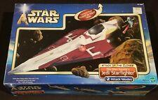 Star Wars Attack Of The Clones Obi-Wan Kenobi's Jedi Starfighter Vehicle