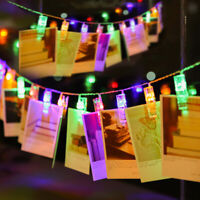 1.5M/3M /6M Photo Clip LED String Lights Decoration Light For Wedding Party