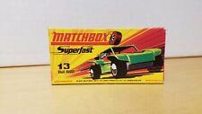 MATCHBOX SUPERFAST BAJA BUGGY No. 13 Empty Original Box