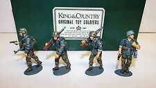 King & country WSS08 officier de l'avancement panzer grenadiers set boxed (BS571)