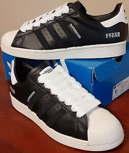 Adidas Original Superstar Sneakers/Shoes Shell Toe Mens Size 9.5 New With Box
