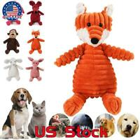 Dog Chew Toy Squeaky Plush Dog Toy for Aggressive Chewers Plush Pet Toy Squeaker