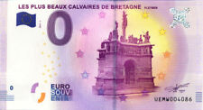 29 PLEYBEN Les plus beaux calvaires de Bretagne, 2017, Billet 0 € Souvenir