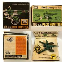 Britains 9724 105mm Pack Howitzer Boxed  Made In England