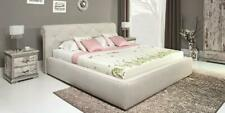 Bed Leather Bed Upholstered Bed Bed Box Double Bedroom Double Bed Beds Retro