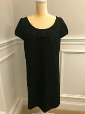 Ann Taylor LOFT Petite Formal Dress Black Cap Sleeve Size 12P
