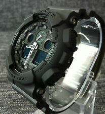 CASIO G SHOCK GA-100MB-1A MISSION BLACK XLARGE ANALOG&DIGITAL 200M WR BRAND NEW