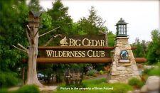 Big Cedar Wilderness, 2 Bedroom Lodge, June 12 to June 19, 7 Nights