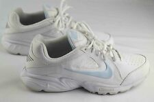 Nike view III womens sz 10 white blue slip resistant walking sneakers 454123-140