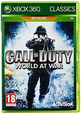Call of Duty World at War Classics Xbox 360 NEW DISPATCH TODAY ALL ORDERS BY 2PM