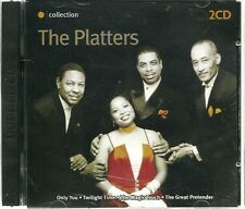 THE PLATTERS THE ORANGE COLLECTION - 2 CD BOX SET - ONLY YOU, I'M SORRY & MORE