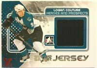 2010-11 ITG Heroes & Prospects Game-Used Jersey Silver Logan Couture Vault 1/1