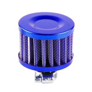 1PC Blue Small Mushroom Head 12mm Secondary Mini Cold Air Auto Intake Filter