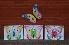 Große Schmetterling Gartenfiguren & -skulpturen aus Metall