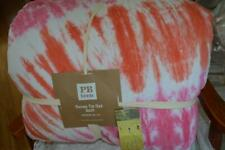 Pottery Barn Teen Dunes Tie Dye Quilt Twin size ~ New ~ Pink
