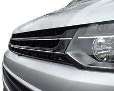 Bus VW t5 Facelift 09-15 ABS CALANDRE FRONT GRILL sans Emblème Laqué Noir