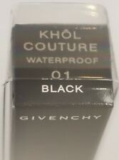 GIVENCHY Khol Couture Waterproof Eyeliner Rectactable, #01 Black FACTORY SEALED!