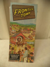 Vintage Amusement Park Brochure Frontier Town Upstate New York Adirondacks