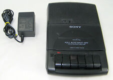 Sony Tcm-929 Cassette Recorder and Portable Player with Power Supply Vguc Tested