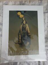 Mike Mignola Hellboy hand signed artwork print