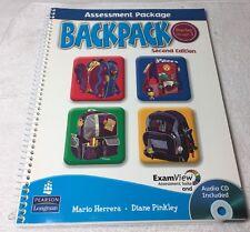 Pearson Longman Backpack Assessment Package Starter-3 Second Ed. Audio CD NEW