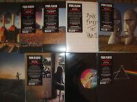 Pink Floyd: Vinyl Collection 9 Alben, 14 LP's neu / new