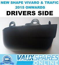 VIVARO TRAFIC TALENTO BLACK WING MIRROR LOWER COVER CASING DRIVERS OFF SIDE