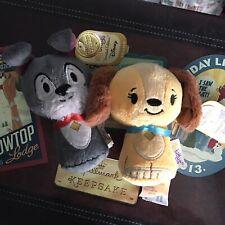 Hallmark Itty Bitty Disney Lady & The Tramp 2014 Retired Limited Edition Set Nwt