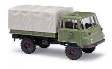 """Maquette de voiture Busch (H0 50234): CAMION Robur LO 2002 """"Oreilles D'or"""""""