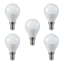 5 x LED Birne Dimmbar 5,5W ~ 40W E14 470lm 5,5 Watt 180° Warmweiß Leuchtmittel