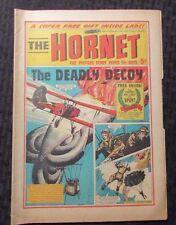 1967 The Hornet Uk Fleetway Weekly Newspaper Comic #181 Vg 4.0 The Blitz Kid