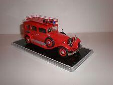 "1/43 1930 Mercedes Benz 460 ""Nurburg"" Fire Limousine Handmade"