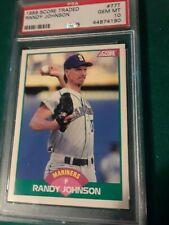 New listing 1989 score traded randy johnson psa 10