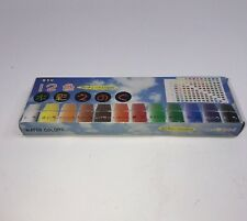 KSC Water Colors - 12 Different Colors Inc Burnt Umber, Burnt Sienna C347