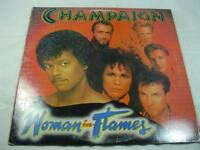 Champaign - Woman in Flames - Includes Promo Letter + Promo Photos