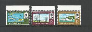 British Virgin Islands,1967 Bermuda - Tortola Telephone Service UMM Set SG 217/9