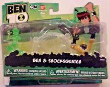 Ben 10 Omniverse Ben & ShockSquatch 2-pack New MOSC