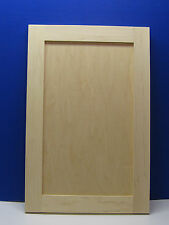 Maple Shaker Style Unfinished Cabinet Door Other Sizes Available!
