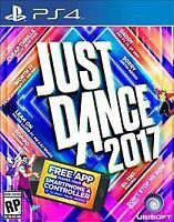 Just Dance 2017 (Sony PlayStation 4, 2016) BRAND NEW FAST SHIPPING ! UBISOFT PS4