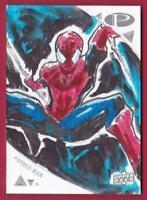 SPIDER-MAN 2019 UPPER DECK MARVEL PREMIER SKETCH CARD AJHAY CEREZO #1/1